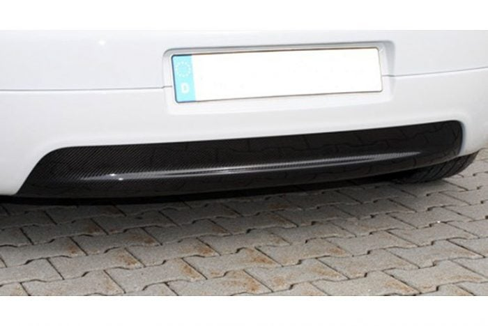 Kerscher Carbon Cover for Rear Bumper without Cutout, fits Volkswagen Golf Mk5