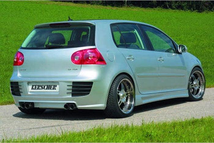 Kerscher Rear Bumper with ABS Ribs, fits Volkswagen Golf Mk5