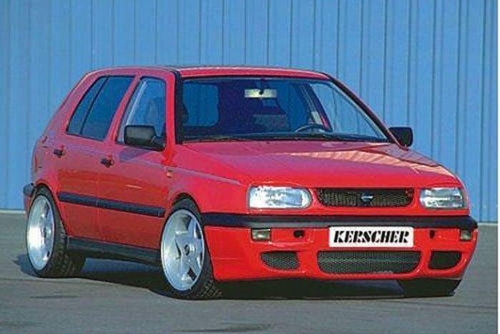 Kerscher Front Bumper Extension KRS, fits Volkswagen Golf Mk3