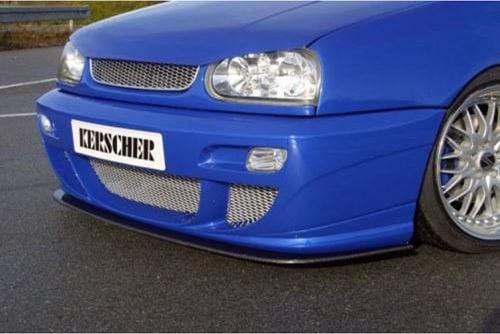 Kerscher Front Spoiler Splitter Carbon, fits Volkswagen Golf Mk3