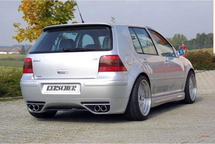 Kerscher Front Bumper Extension RS4, fits Volkswagen Golf Mk4