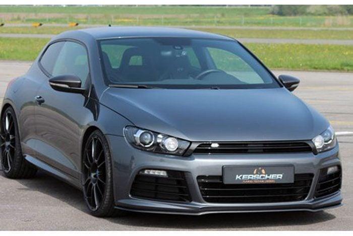 Kerscher Front Splitter Carbon, fits Volkswagen Scirocco R