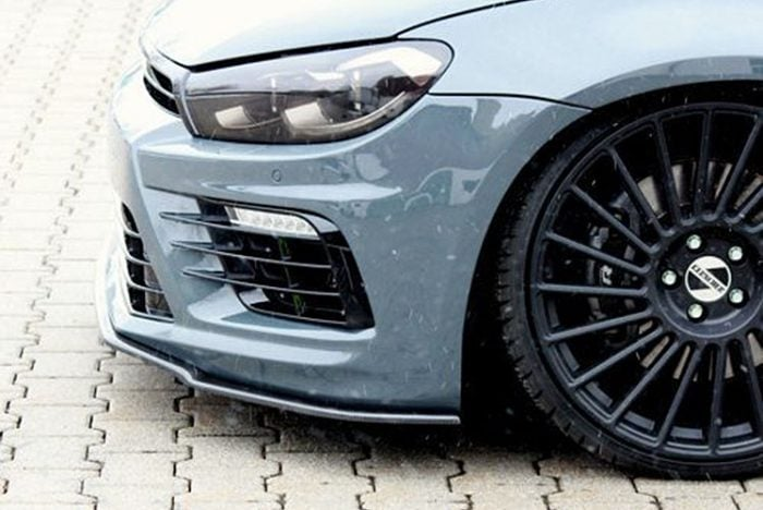 Kerscher Front Splitter Carbon LCI, fits Volkswagen Scirocco R