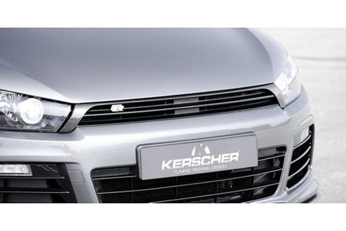 Kerscher Radiator Grille with Carbon Cover, fits Volkswagen Scirocco R