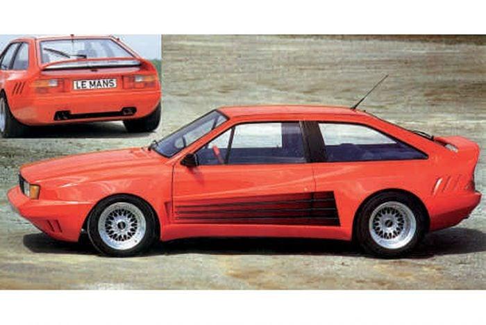 Kerscher Body Kit Le Mans, fits Volkswagen Scirocco