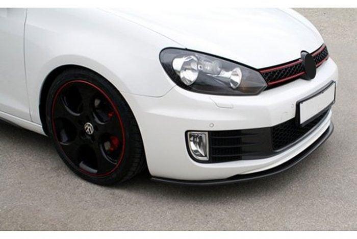 Kerscher Front Spoiler Splitter Carbon, fits Volkswagen Golf GTI Mk6