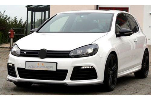 Kerscher Front Spoiler Splitter Carbon, fits Volkswagen Golf R Mk6