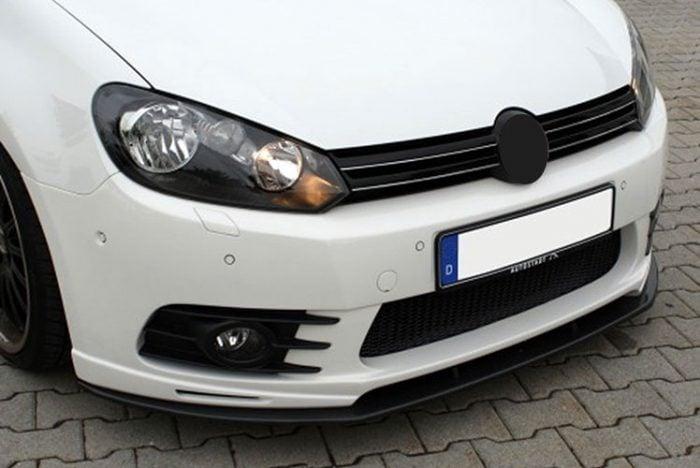 Kerscher Front Spoiler Splitter Carbon, fits Volkswagen Golf Mk6