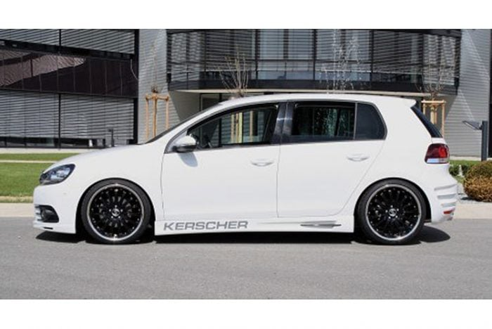 Kerscher Side Skirts Set Phoenix, fits Volkswagen Golf Mk6