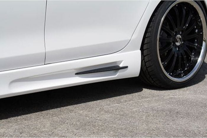 Kerscher Carbon Cover for Sideskirt-ribs, fits Volkswagen Golf Mk6