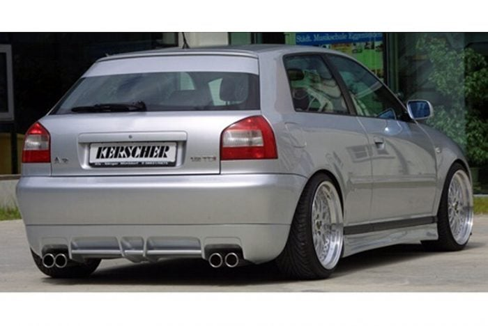 Kerscher Rear Bumper Insert, fits Audi A3 8L