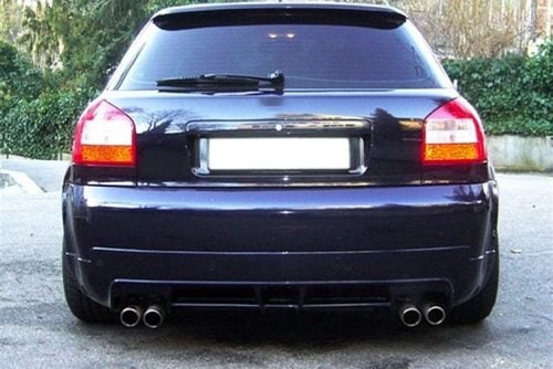 Kerscher Rear Bumper Extension, fits Audi S3 8L