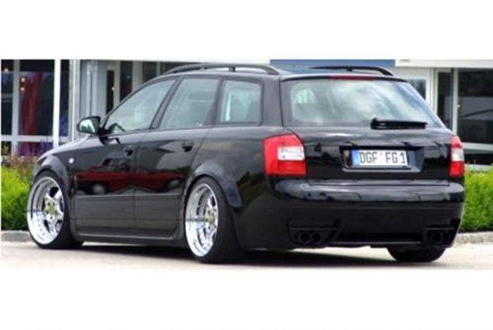 Kerscher Rear Bumper Insert, fits Audi A4 B6 Avant