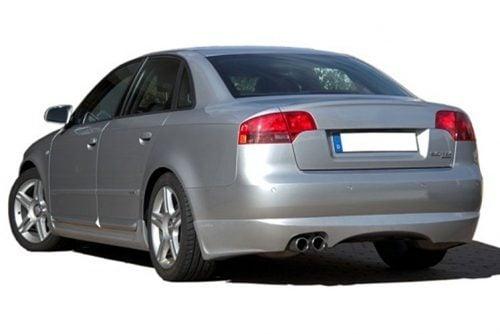Kerscher Rear Bumper Extension Spirit for Exhaust Left, fits Audi A4 B7