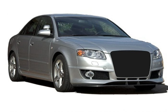 Kerscher Front Spoiler Splitter Carbon, fits Audi A4 B7