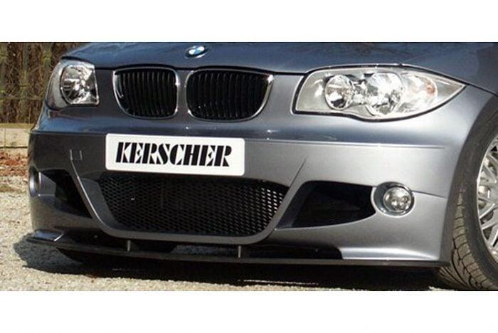 Kerscher Front Spoiler Splitter Carbon for 3039300KER, fits BMW 1-Series E81-E88