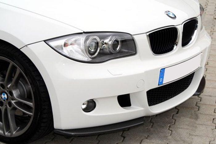 Kerscher Front Spoiler Splitter, fits BMW 1-Series E87/LCI/E81/M