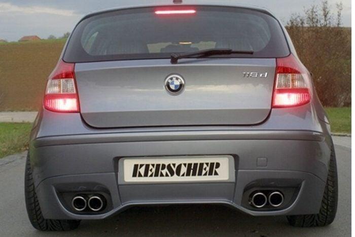 Kerscher Rear Bumper Insert KM1, fits BMW 1-Series E87