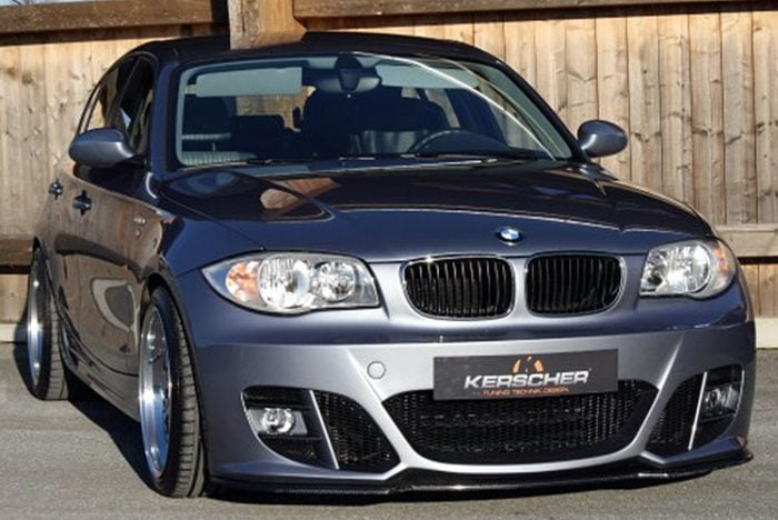 Kerscher Front Bumper KM2 with Foglamps, fits BMW 1-Series E81/82/87/87LCI/88