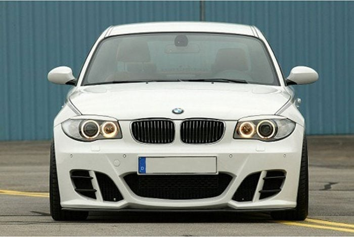 Kerscher Front Bumper KM2 without Foglamps, fits BMW 1-Series E81/82/87/87LCI/88