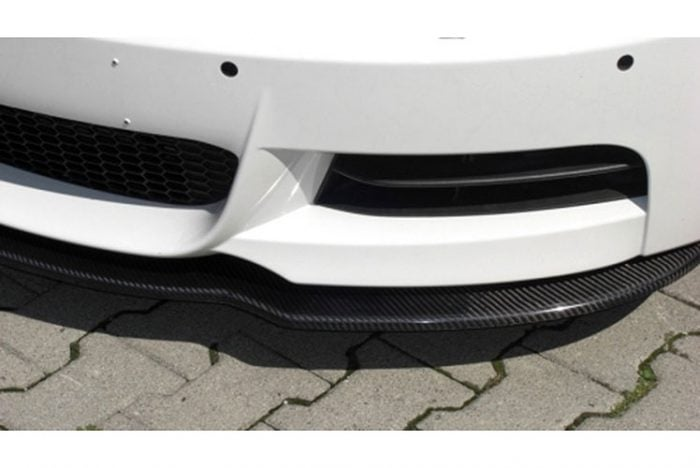 Kerscher Front Spoiler Splitter Carbon for M-Front, fits BMW 1-Series E82/E88