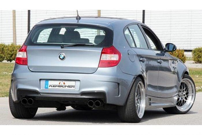 Kerscher Rear Bumper M-Look, fits BMW 1-Series E81/E87