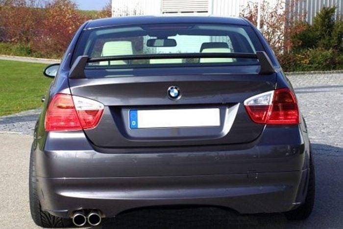 Kerscher Rear Bumper Extension Spirit without Carbon Insert, fits BMW 3-Series E90 08/08 (not 335i/d)