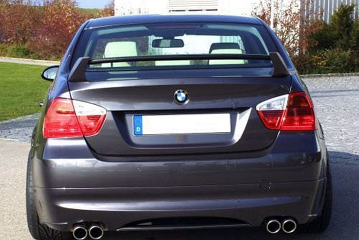 Kerscher Rear Bumper Extension Spirit for Exhaust Left-right, fits BMW 3-Series E90 08/08 (not 335i/d)