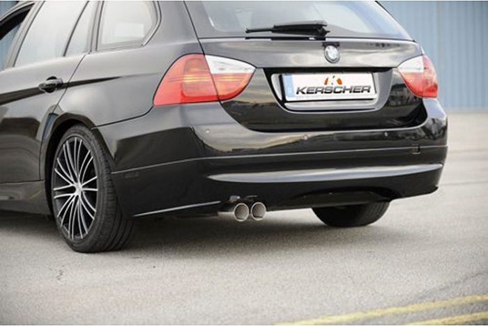 Kerscher Rear Bumper Extension Spirit for Exhaust Left, fits BMW 3-Series E91 08/08 (not 335i/d)