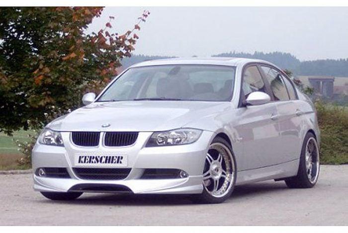 Kerscher Front Bumper Extension without Carbon, fits BMW 3-Series E90/E91