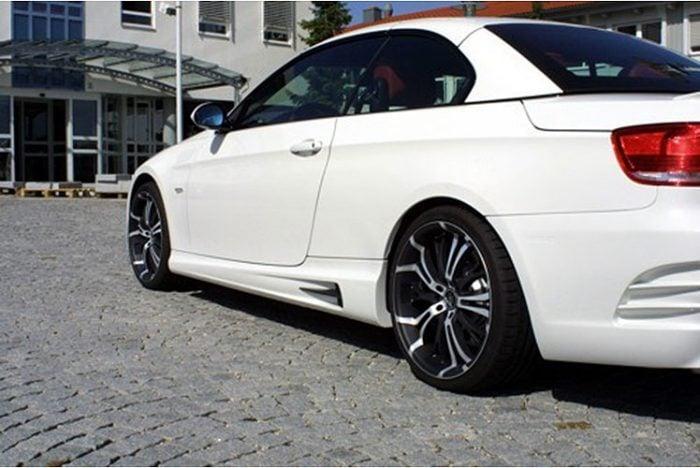 Kerscher Side Skirts Set Spirit, fits BMW 3-Series E92/E93