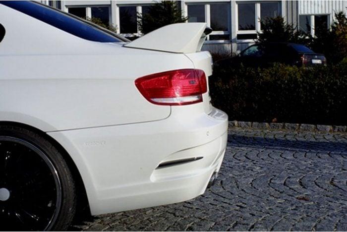 Kerscher Rear Wing 3 Part with Carbon, fits BMW 3-Series E92/E93
