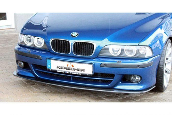 Kerscher Front Spoiler Splitter Carbon for M-Front, fits BMW 5-Series E39