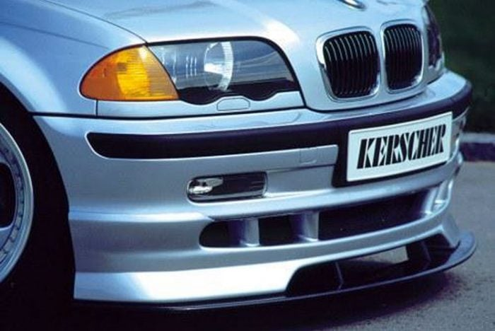 Kerscher Front Spoiler Splitter Carbon for Front Bumper Extension, fits BMW 3-Series E46