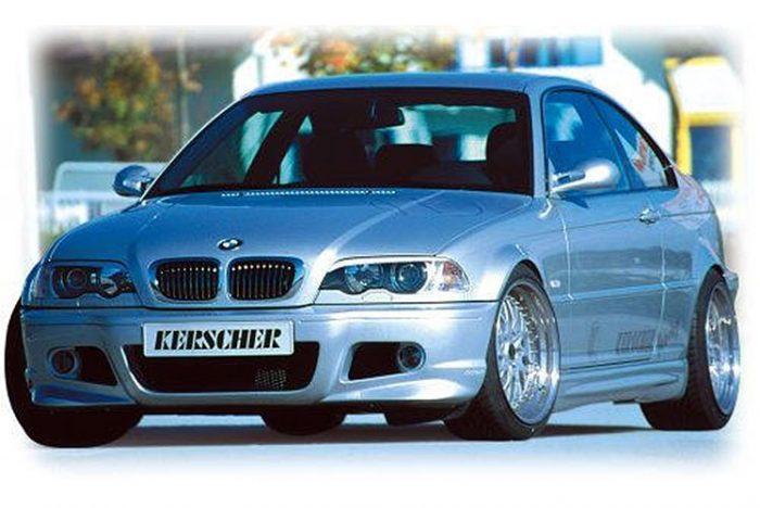 Kerscher Front Bumper M-Line 2, fits BMW 3-Series E46 Sedan/Touring