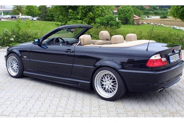 Kerscher Sideskirts Set M-Line 2, fits BMW 3-Series E46 Sedan/Touring/Coupe/Cabrio