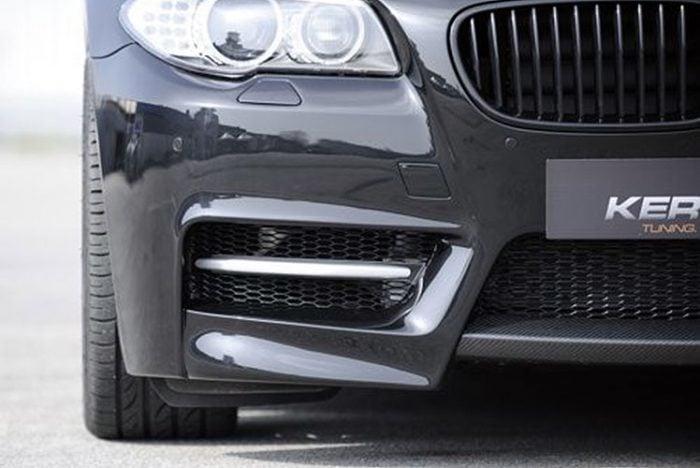 Kerscher Front Bumper Fins Fiberglass, fits BMW 5-Series F10/F11