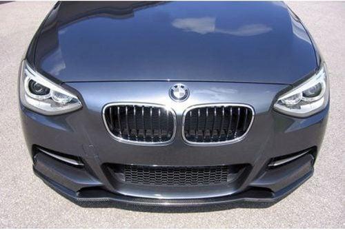 Kerscher Front Spoiler Splitter for M-technik-bumper, fits BMW 1-Series F20/F21 LCI