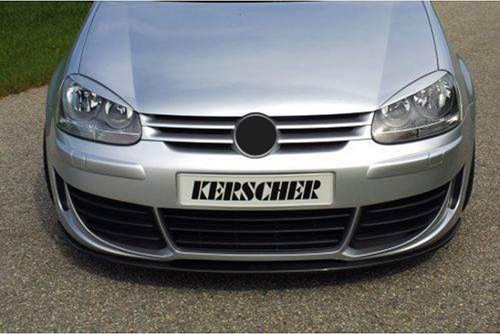 Kerscher Front Spoiler Splitter Carbon, fits Volkswagen Golf Mk5