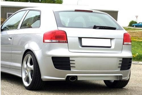Kerscher Rear Bumper, fits Audi A3 8P 3 Door
