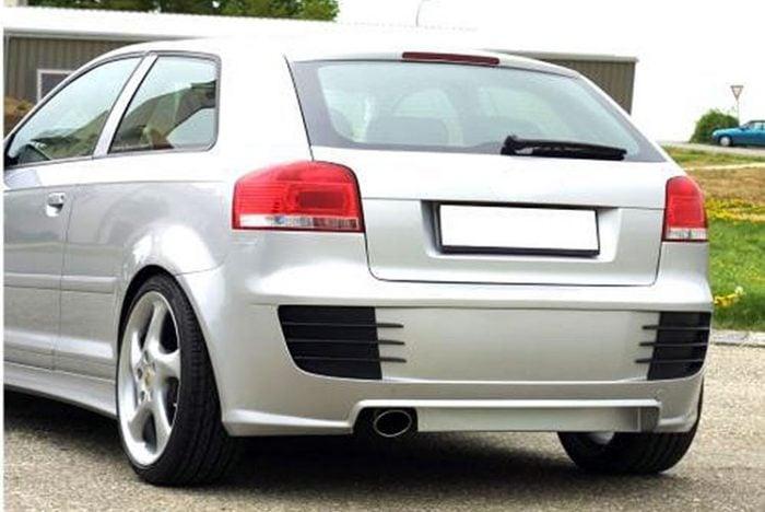 Kerscher Rear Bumper, fits Audi A3 8P 3 Door
