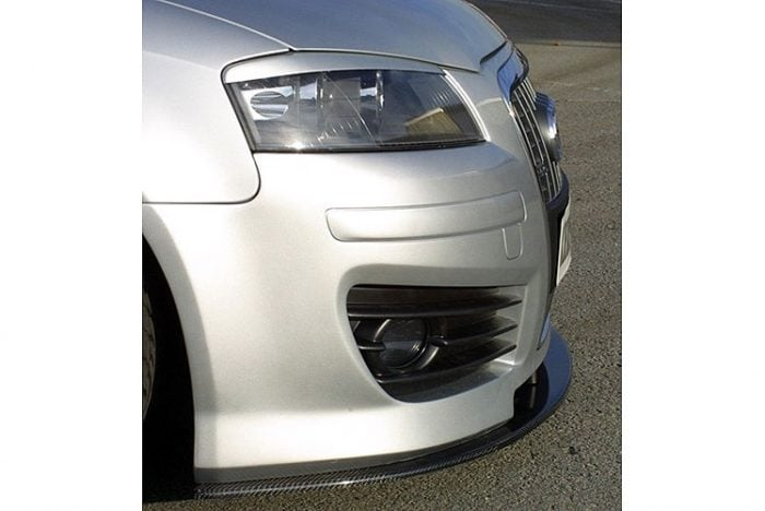 Kerscher Front Bumper K-Line 2 Single Frame with Headlamp Washers, fits Audi A3 8P