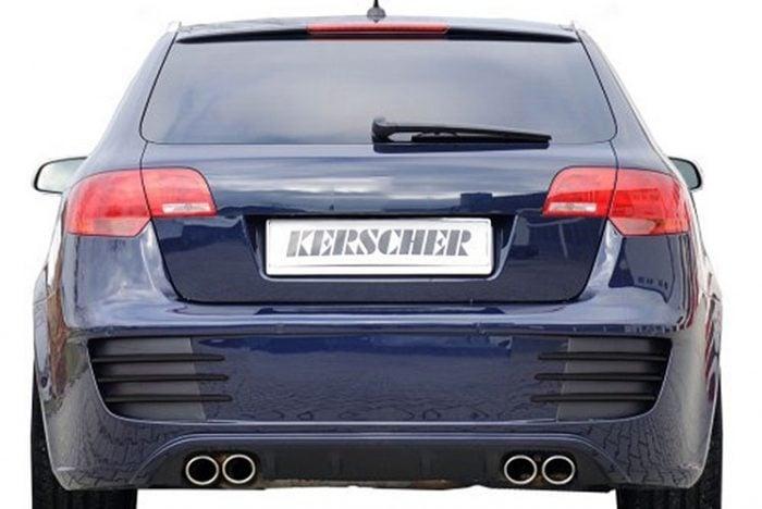 Kerscher Rear Bumper, fits Audi A3 8P 5 Door