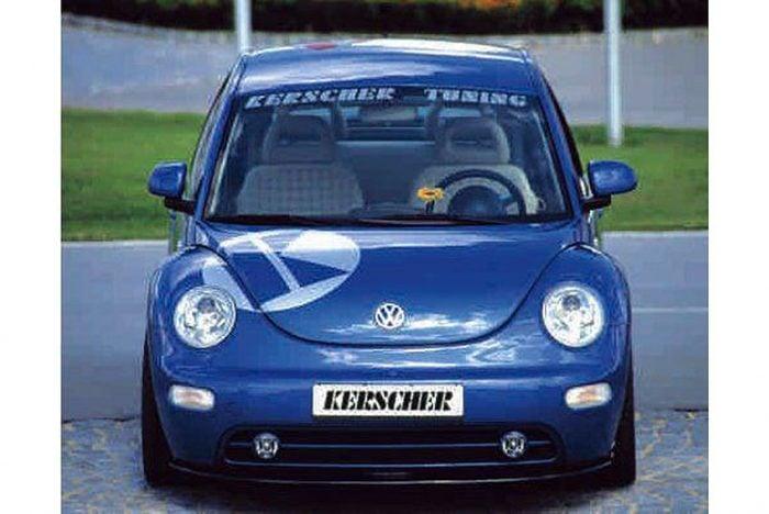 Kerscher Front Spoiler Splitter Carbon, fits Volkswagen Beetle