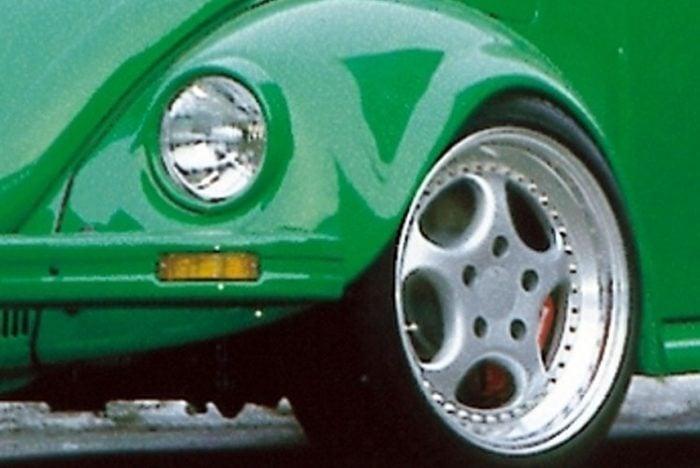 Kerscher Fenders VA Widened Inside and Outside 6 cm, fits Volkswagen Beetle 1302/1303