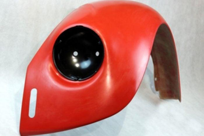 Kerscher Fenders VA Widened Inside 3 cm, fits Volkswagen Beetle 1200/1300/1500