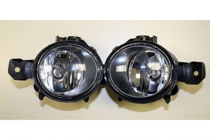 Kerscher Foglamps Set for KM2/M-Look, fits BMW 1-Series E81-E88