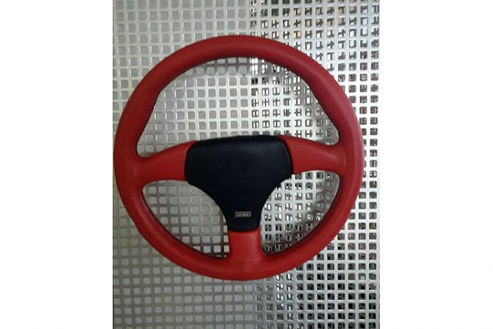 Kerscher Steering Wheel Formel 320, Red, fits Volkswagen Beetle