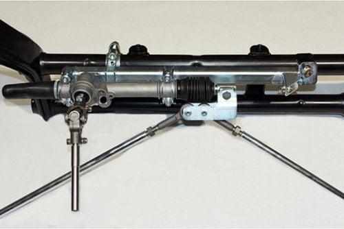 Kerscher Refitting Rack and Pinion Steering Gear, fits Volkswagen Beetle 08/65
