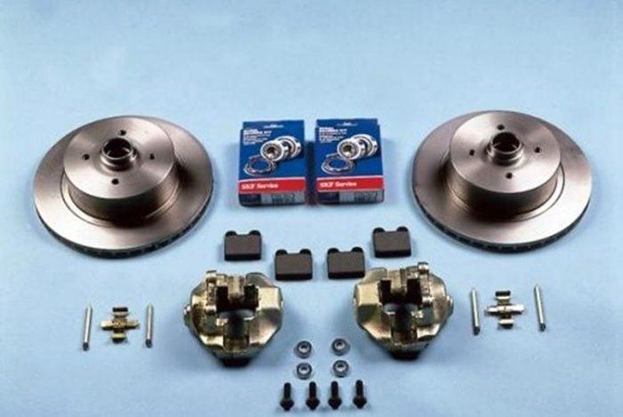Kerscher Grease Caps, set for PCD 100/4, fits Volkswagen Beetle